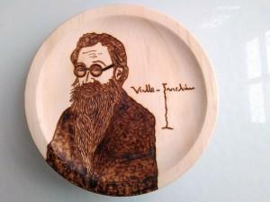 Platos de madera personalizados